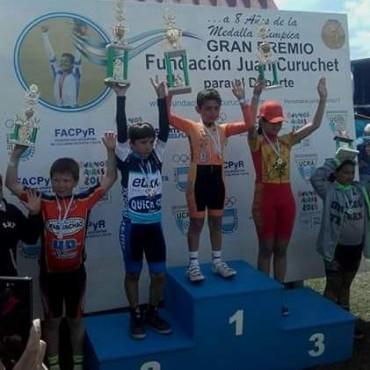 Uriel Tolosa fue campeón en Mar del Plata