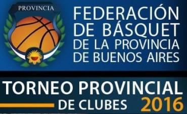 Resumen de la sexta fecha del Provincial de clubes de Básquet
