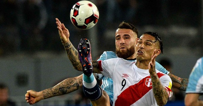 Argentina no supo cuidar la ventaja ante Perú