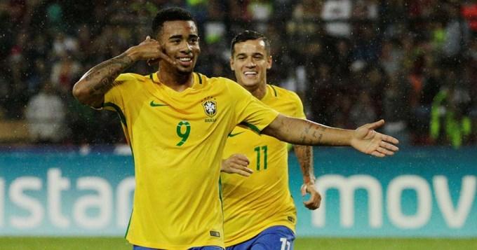 De la mano de Jesús, Brasil lidera la Eliminatoria
