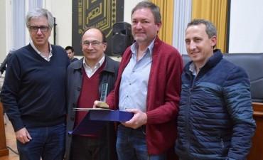 Reconocimiento a Fabián Giustozzi