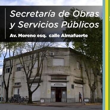 De interés para los vecinos de Saladillo: cómo contactarse con Obras y Servicios Públicos