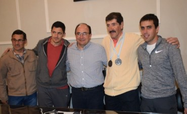 Miguel Ángel Lubo fue recibido por el Intendente