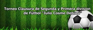 Este domingo vuelve el fútbol de Primera división en Saladillo