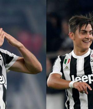 Dybala e Higuaín marcaron en la goleada de Juventus ante Spal
