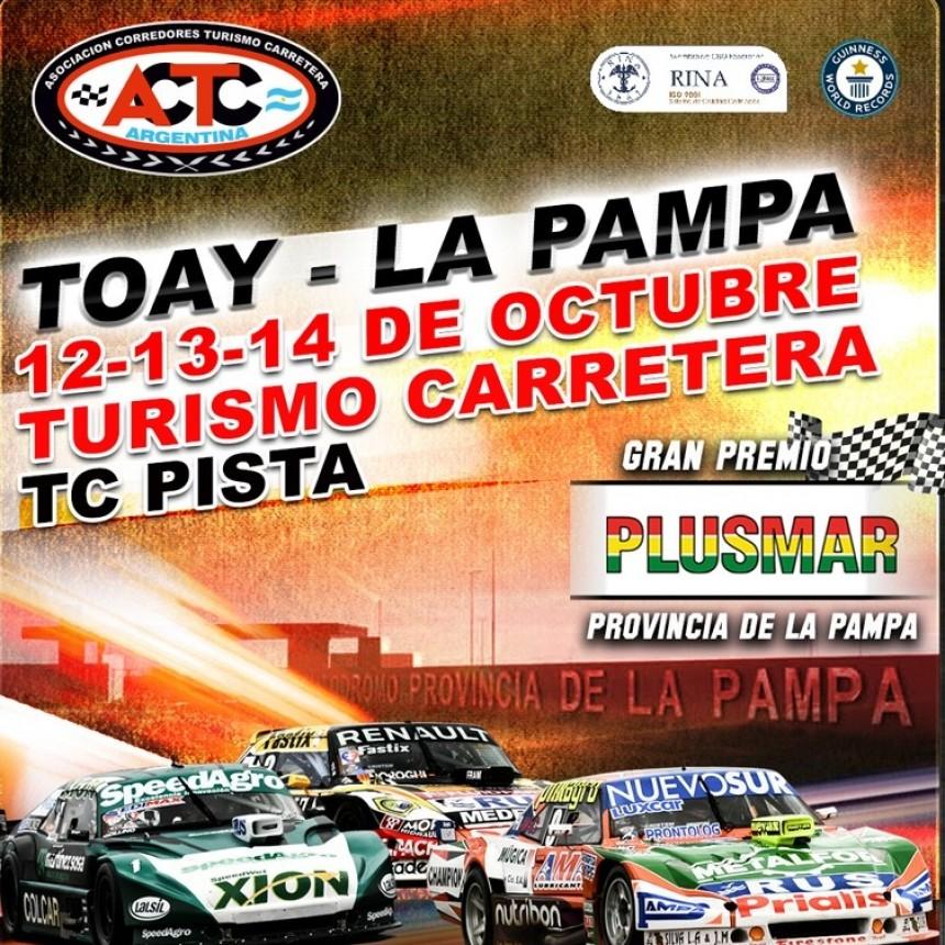 El TC corre en Toay, fecha clave para el campeonato