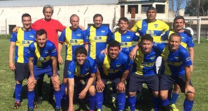 Veteranos jugaron en Álvarez de Toledo