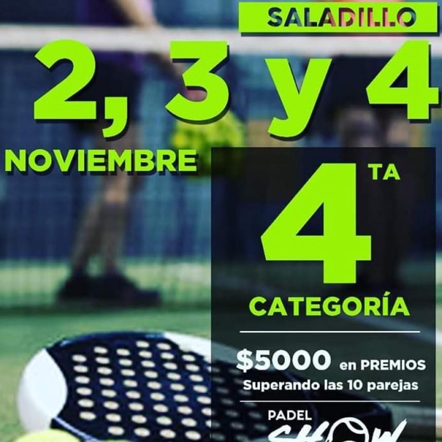 Importante Torneo de Padel se realizará en Saladillo