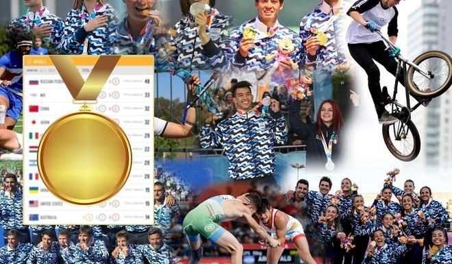 ¿Cómo está el medallero general de las Olimpiadas de la Juventud?