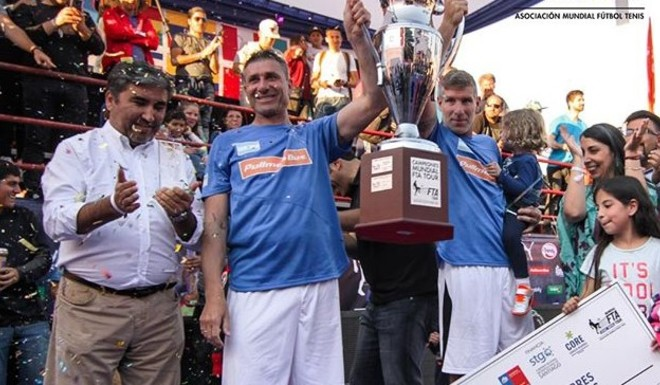 Palermo y Abbondanzieri, ¡campeones del mundo!