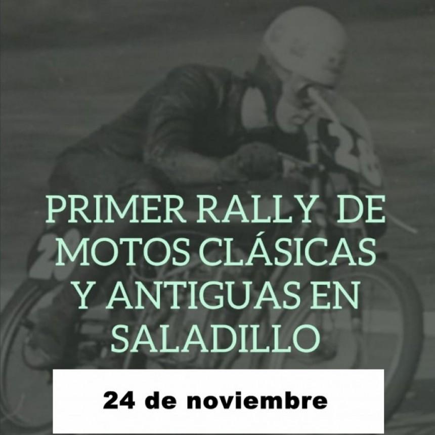 Inscriben para el Primer Rally de Motos Clásicas y Antiguas en Saladillo