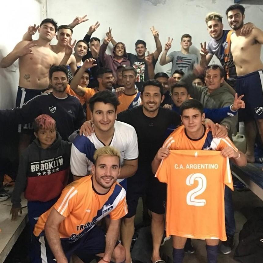 Argentino sigue sumando de a tres en primera