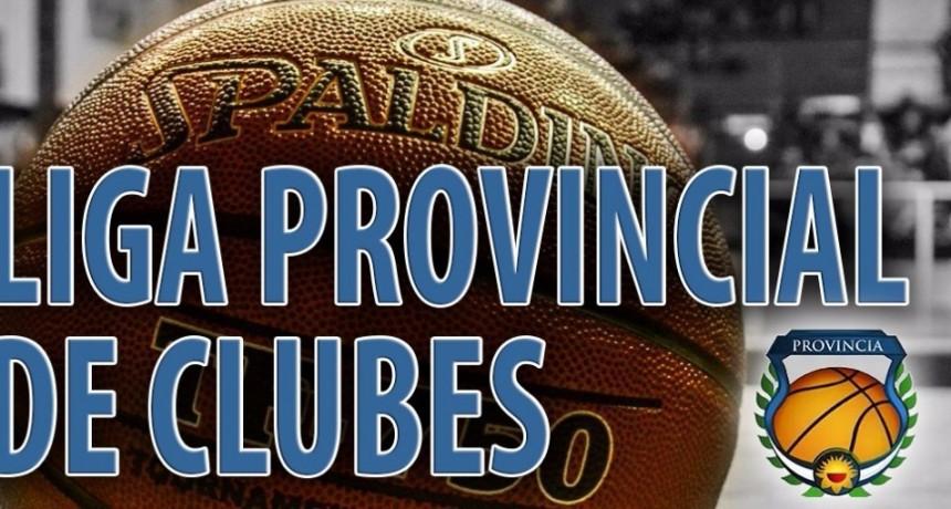 Se jugó la primera fecha del Provincial de clubes de Básquet