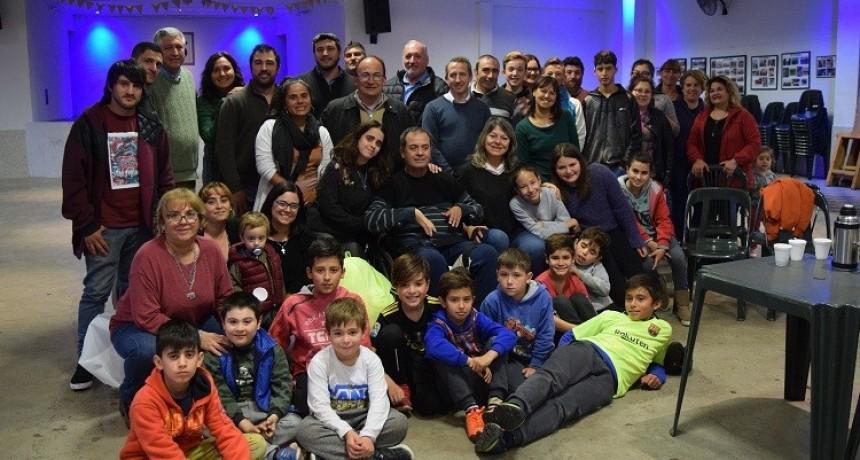 Se inauguró Escuela de Fútbol en Polvaredas