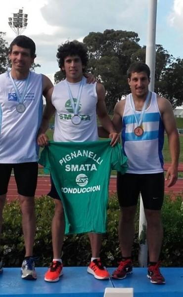 Saladillenses  en el campeonato provincial de atletismo
