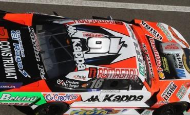 Finalmente Juan Martín Bruno, quedó sexto en el arranque