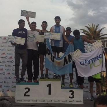 Ezequiel Aguilera fue cuarto en la general en la maratón Dino Tinelli