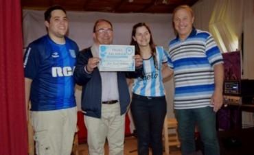 Salomón participó de la creación de la Filial local  de Racing Club