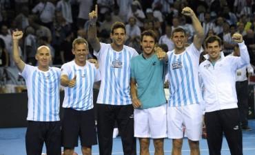 Destino Croacia: el equipo argentino de Copa Davis entrenó por última vez antes de viajar