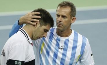 Federico Delbonis no pudo con Marin Cilic y Croacia se adelantó 1-0 a la Argentina en la final de la Copa Davis