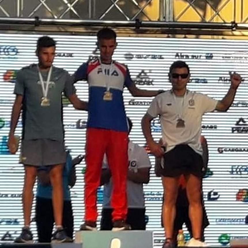 Ezequiel Aguilera finalizó quinto en la Dino Hugo Tinelli