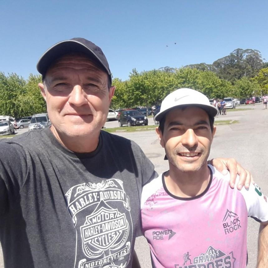 """Marcelo Gabrielloni corrió el """"Héroes Raid Series"""" en Tandil"""
