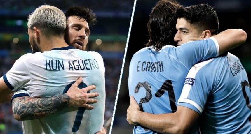 El seleccionado argentino se enfrenta a Uruguay en su último partido del año