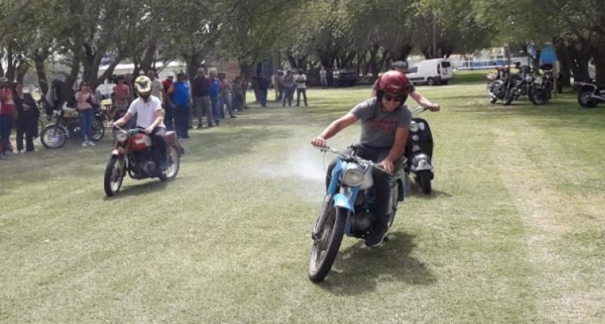 Luciano Álvarez ganó el 1° Rally de Regularidad de Motos Clásicas