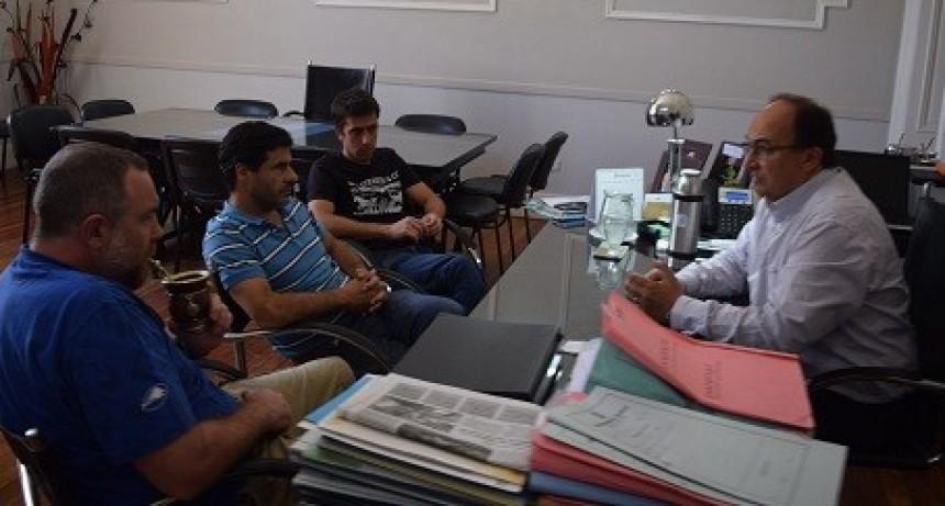 Referentes del Saladillo Rugby Club se reunieron con el Intendente