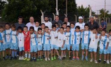 La Escuela  Municipal de Fútbol de Del Carril cerró las actividades del año