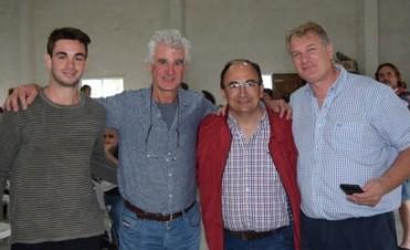 Salomón participó del almuerzo de despedida a Jorge Lacunza