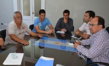 Autoridades del Club Apeadero analizaron proyectos institucionales con el Intendente