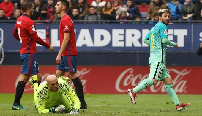 Messi metió un doblete y Barcelona volvió al triunfo