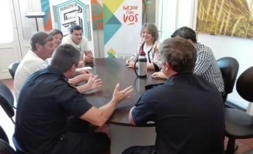 Reunión por operativos de seguridad en el marco de la final del fútbol local