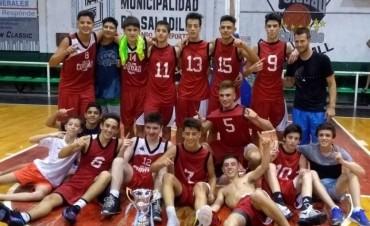Club Ciudad se coronó campeón en categoría sub15