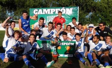 El club Atlético Argentino campeón en segunda