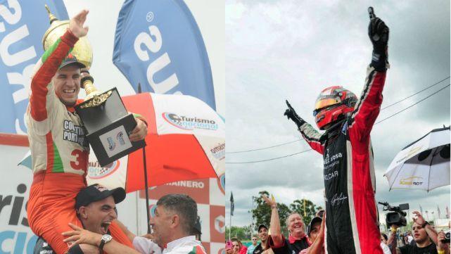 Canapino se quedó con la corona del TRV6 y Werner con la C3 del TN