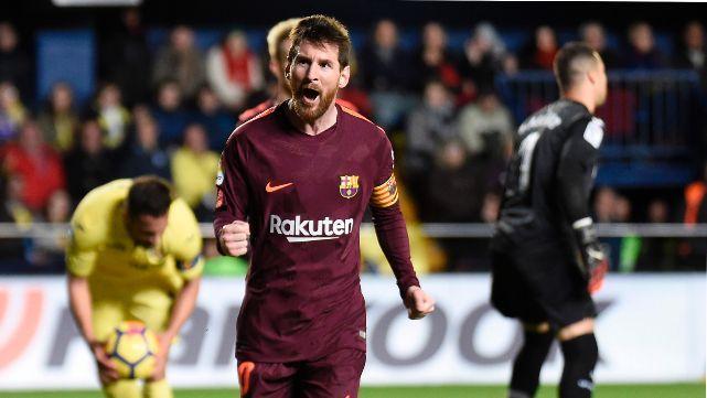 Messi, el máximo goleador de Europa