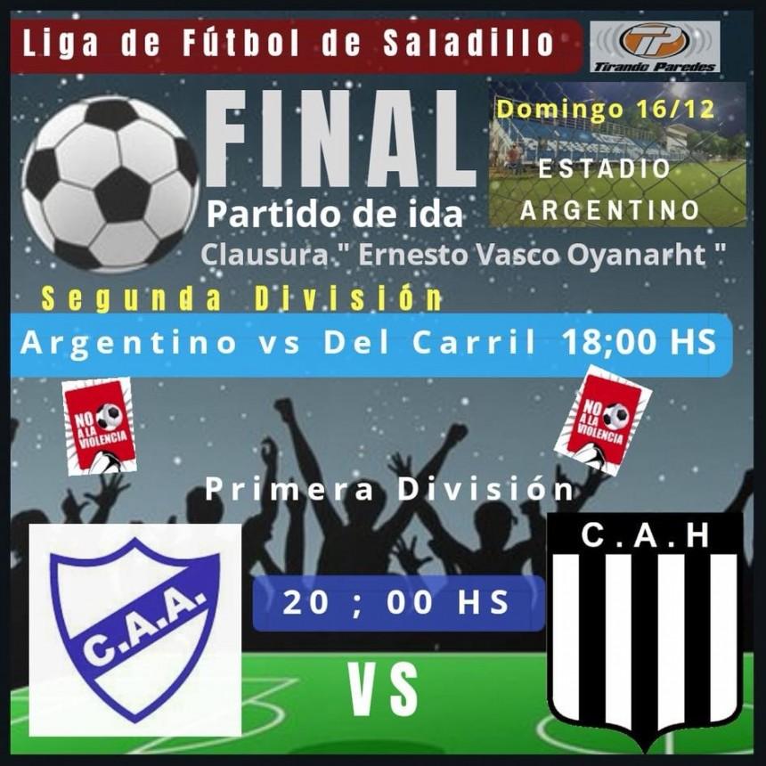 Arranca la final del Torneo de Primera División de Fútbol