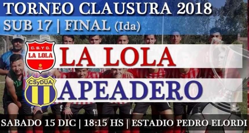 Final de la categoría sub17 en el Pedro Elordi