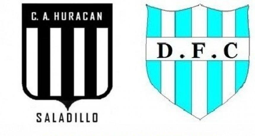 Huracán y Defensores de Del Carril se enfrentan hoy por la Copa de campeones
