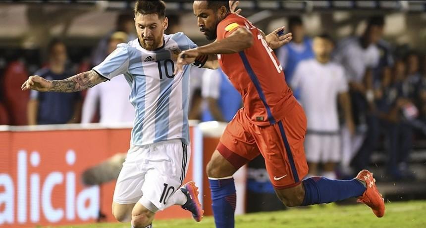 Argentina enfrentará a Chile en el arranque de la Copa