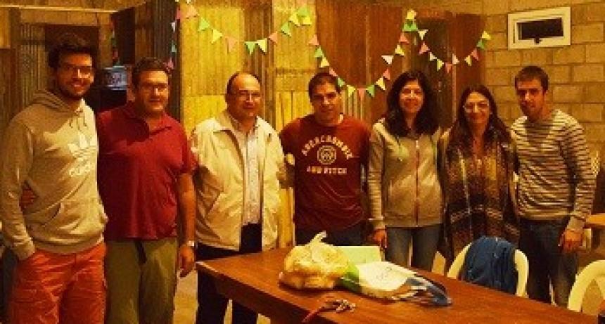 Saladillo Hockey Club presentó nuevas autoridades al Intendente