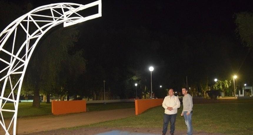 Mejoras e infraestructura deportiva en Plaza Falucho